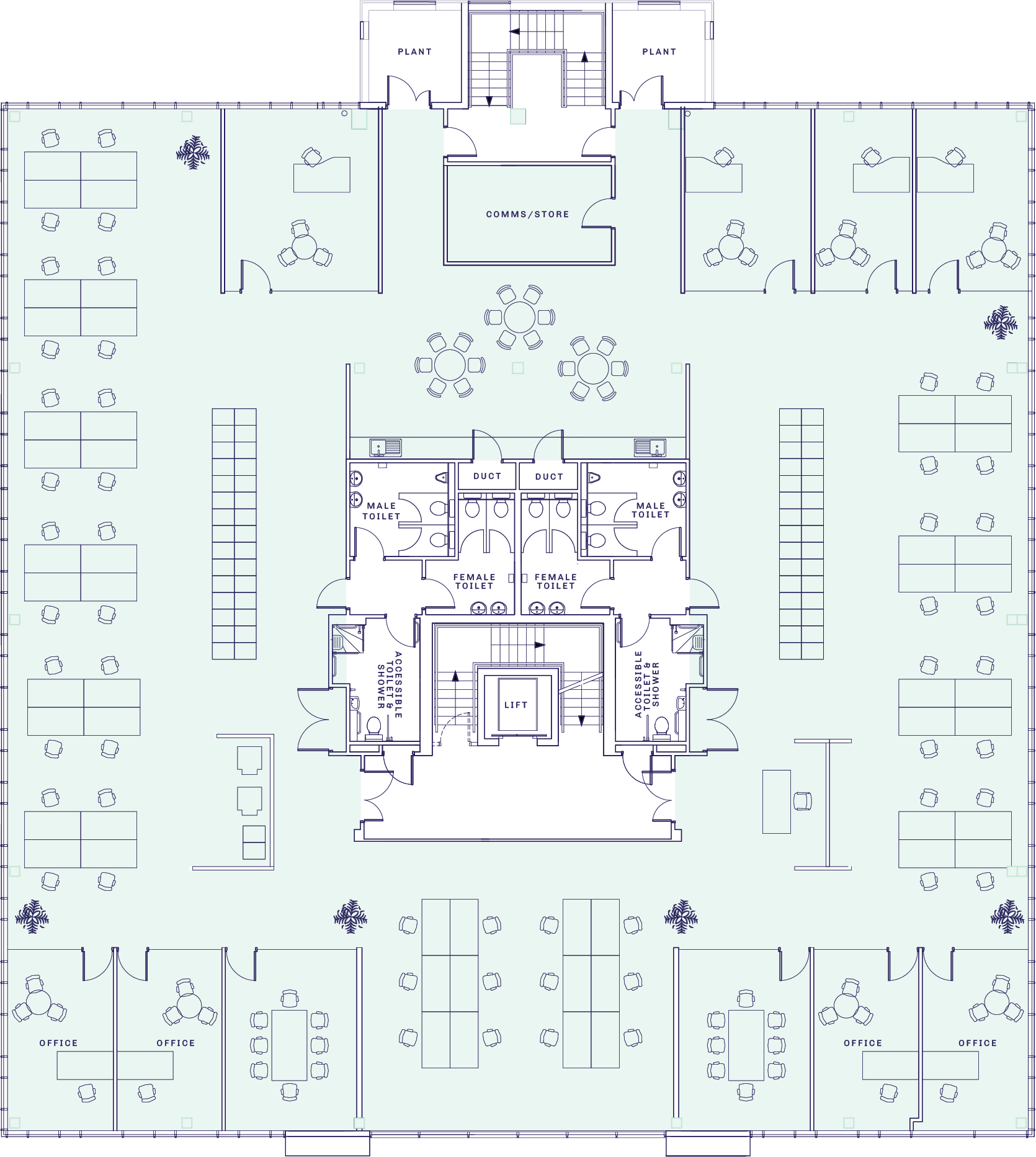Professional Space Plan